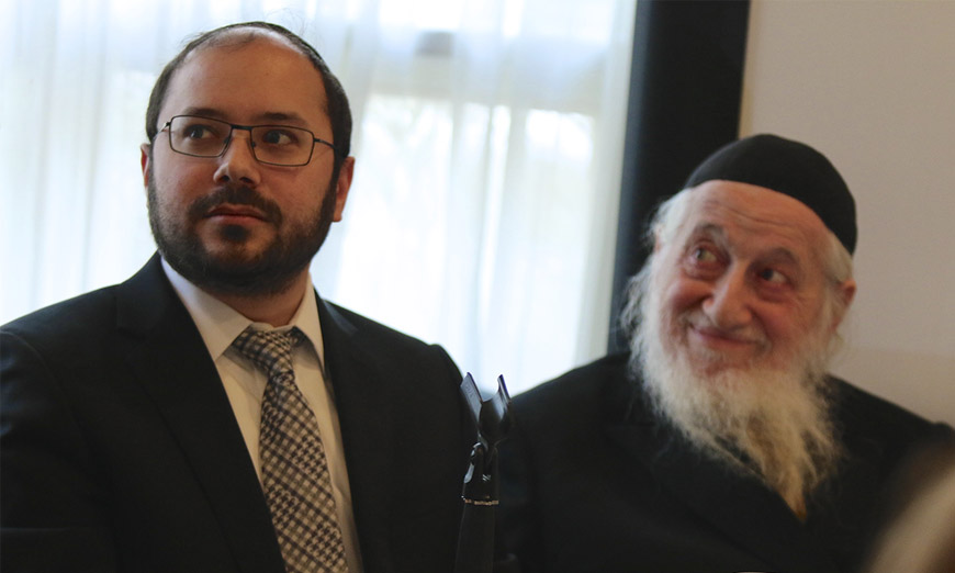 Presenters R' Mordechai Ochs, Toras Emes Congregation and Dr. Uri Wolf, MD FRCPC, Geriatric Psychiatrist